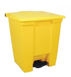 Contentor c/Pedal 30 Litros Amarelo