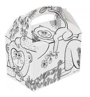Caixa Asa Menu Lunch Box Criança 17x16x10cm 50un