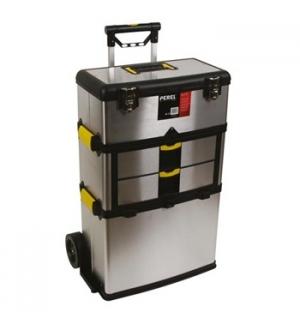 Caixa Ferramentas Trolley 4 Compartimentos 570x354x830mm