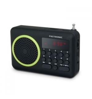Radio portatil Digital Verde