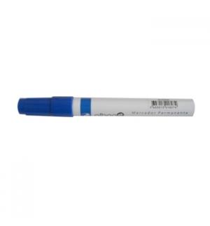 Marcador Permanente Grosso 20mm Azul -1un
