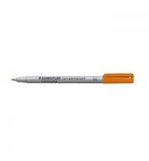 Marcador Nao Perm Medio Lumocolor 10mm 315-4 Laranja 1un