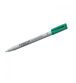 Marcador Nao Perm Fino Lumocolor 06mm 316-5 Verde 1un