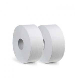 Papel Higienico (Jumbo) 120mts 2Fls Ecologico 89cm -12un