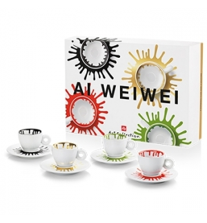 Chavena Espresso Illy Art Collection Horeca Ai Weiwei 4un