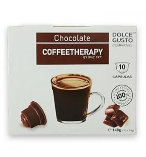 Chocolate Cápsulas CoffeeTherapy DG 10un