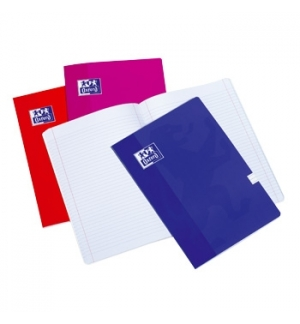 Caderno Agrafado Oxford Colours A5 Quadri 90gr 48Fls 4Cores