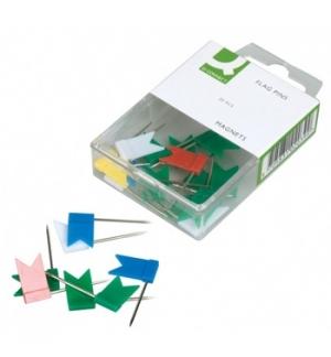 Sinalizadores (20un) Bandeiras Cores Sortidas (02039)