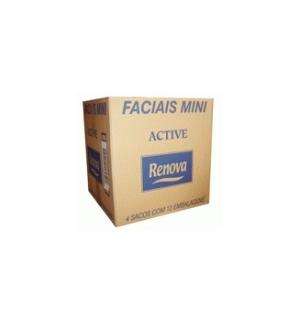 Lencos Papel Facial Renova Active Mini 46un