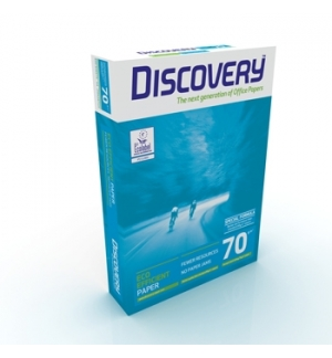 Papel Fotocopia A4 70gr Discovery 5x500Folhas