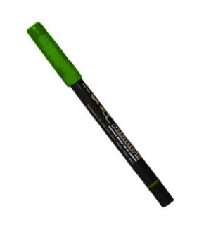 Marcador Perm Medio (CD/Acetatos) UMS1 Verde-Pack10un