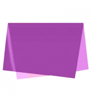 Papel Seda 51x76cm Pack 25 Folhas Violeta