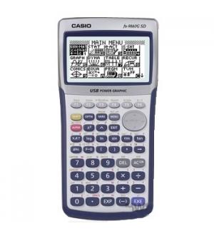 Calculadora Grafica Casio CFX9860GII SD Card