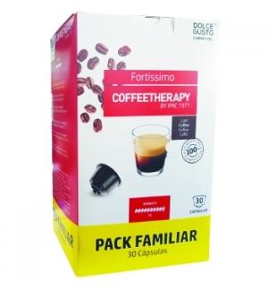 Café Cápsulas CoffeeTherapy Fortissimo DG 30un