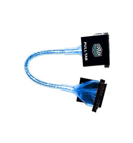Cabo Cooler Master Redondo Azul Floppy 45cm