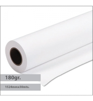 Papel Premium Coated 180gr 1524mmx30mts - 1 Rolo