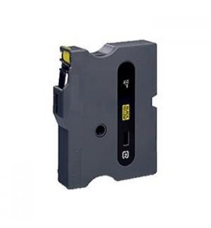 Fita para Gravacao P-Touch 12mm Amarelo/Preto
