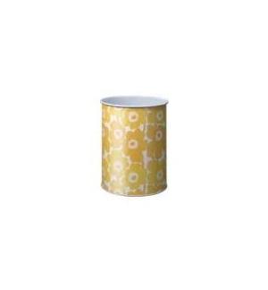 Papeleira Metal 15 Litros Marimekko Amarelo