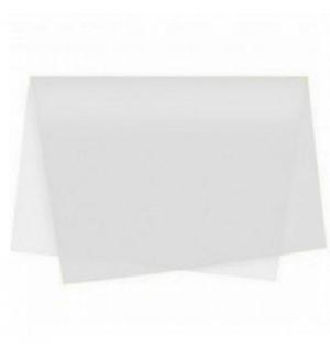 Papel Seda 51x76cm Pack 25 Folhas Branco