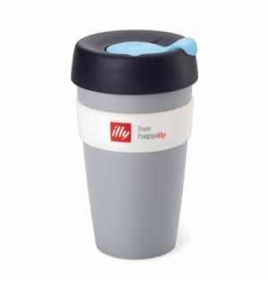 Copo Illy KeepCup Travel Mug Cinzento 1un