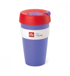 Copo Illy KeepCup Travel Mug Roxo 1un