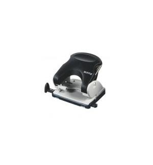 Furador Leitz 5138 4mm c/Regua 40 Folhas Preto