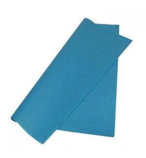 Papel Seda 51x76cm Pack 25 Folhas Azul Ceu