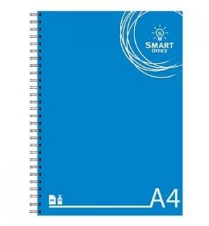 Caderno Espiral Smart Office Capa Cartolina A4 Quadriculado