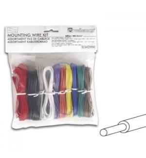 Kit de cabos unifilar com seccao de 2mm para electronica