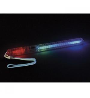 Varinha de sinalizacao LED multicolorida