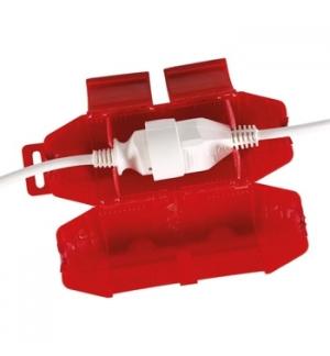 Protecao anti-agua para ligacoes tipo SCHUKO