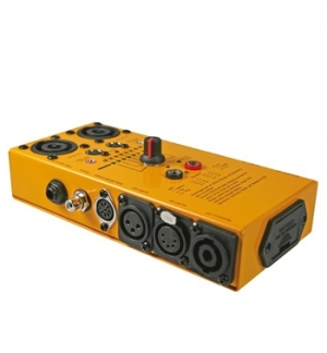 Testador profissional de cabos de audio (10 modos)