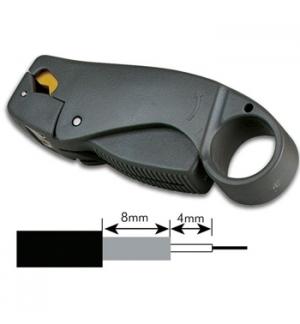 Descarnador/Cortador de cabo coaxial 3 laminas (RG58-RG59)