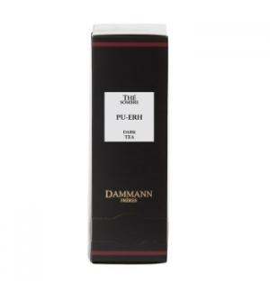 Cha Bolsas Preto The sombre Pu-Erh Dammann - 24un