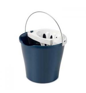Balde 12 Litros c/Espremedor cor Azul