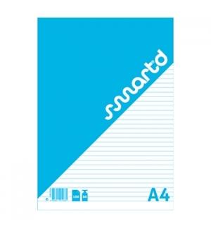 Bloco Notas SmartD A4 Pautado, 60gr, 100 Folhas