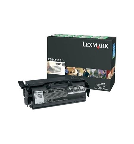 Toner Capacidade Extra c/ Programa de Retorno X654/X656/X658