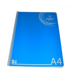 Caderno Espiral Smart Office Capa Plastico A4 Quadriculado