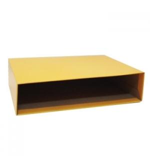 Caixa Cartao Micro p/Pasta Arquivo 200AC 350x290 L80 Amarelo