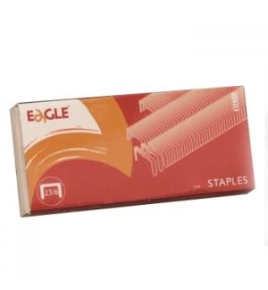 Agrafos 23/6 Eagle (10/40 Folhas) Cx1000un