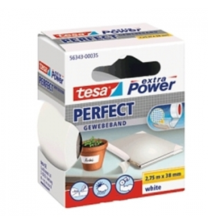 Fita Adesiva Tecido Tesa Extra Power Perfect 38mmx275m Bran