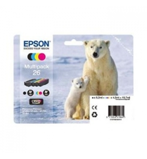 Tinteiro Epson XP600/XP700 Claria Premium n26 Pack 4 Cores