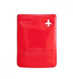 Capa para Passaporte Vermelho