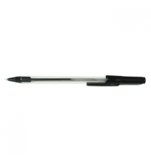 Esferografica Ball Point 10 p/Impressao EP01-0509 Preto-1un