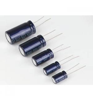 Condensador electrolitico ELCO radial 3300µF / 25V
