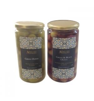 Azeitona Verde Recheada c/Pimento Vermelho Natural CARB 100g
