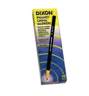 Lapis Dermatografico Dixon Marker Branco Cx 12un