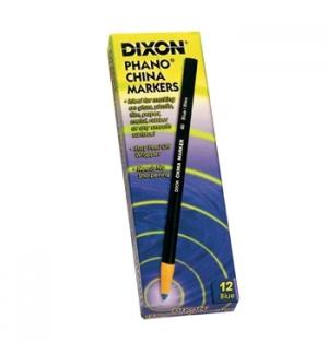 Lapis Dermatografico Dixon China Marker Preto Cx 12un