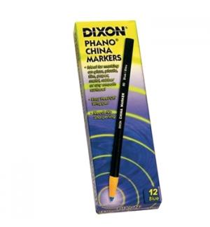 Lapis Dermatografico Dixon China Marker Verde Cx 12un