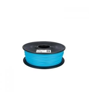 Filamento em PLA DE 3 mm - cor azul claro - 1 kg